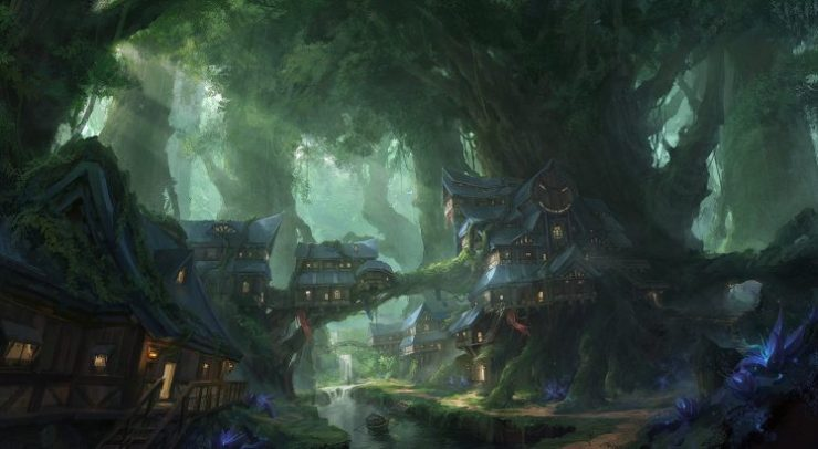 518244-tree_house-forest-house-digital_art-fantasy_art-stream-river-water-sun_rays-boat-flowers-748x411.jpg